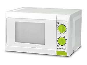 Beper 90.365G 365G-Horno microondas, 20 l, con Grill, Blanco