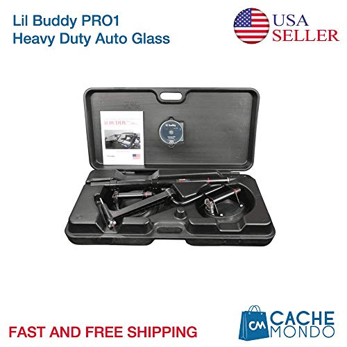 (Lil Buddy PRO1 Heavy Duty Auto Glass/Windshield Handling & Replacement Tool)