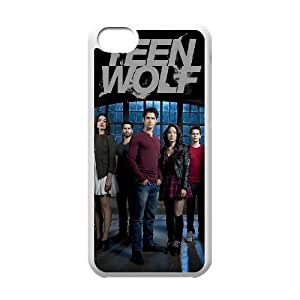 J-LV-F Print Teen Wolf Pattern PC Hard Case for iPhone 5C