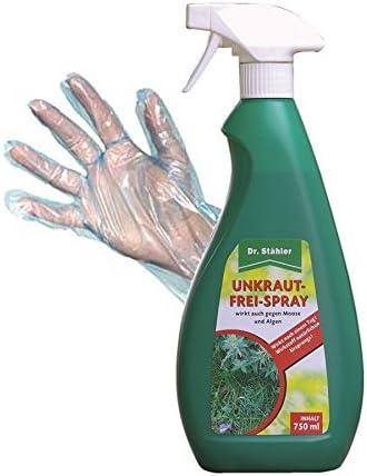 Libre de malas hierbas Spray listas para usar 750 ml | Dr. stähler ...