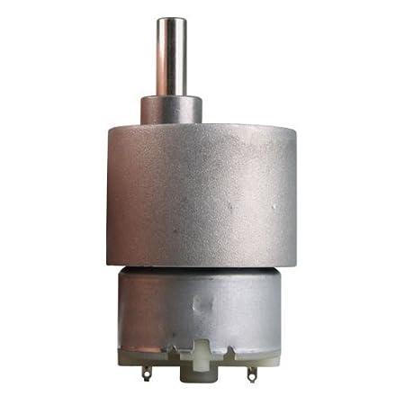 DIY High Torque New Nextrox 37mm 12V 15RPM Electric Mini Geared Box DC Motor f