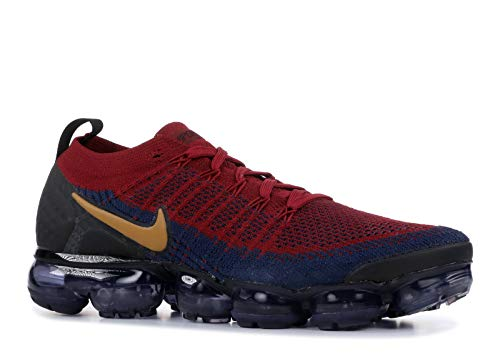 sneakers for cheap d8307 074fc Nike Men s Air Vapormax Flyknit 2, Team RED Wheat-Obsidian-Black,