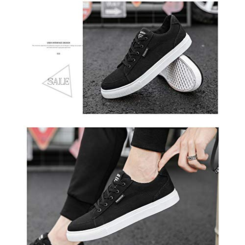 Da Trend Tela 44 Scarpe Uomo Da Di Coreana Studente black Scarpe Nuova Di YXLONG Versione Scarpe Casual Del Moda Autunno waCXR