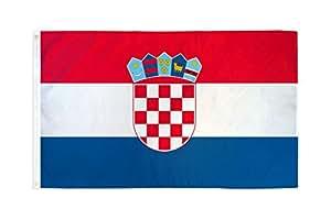 3x5 Croatia Flag Croatian Country Banner Republic Pennant