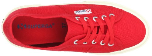 Adulte Cotu Baskets 975 Superga red Rouge 2750 plus Mixte TH1WXEWz