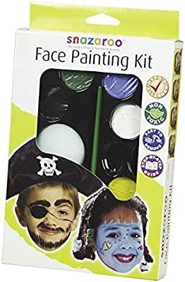 Snazaroo - Paleta de pintura facial, arcoíris: Amazon.es: Juguetes y juegos