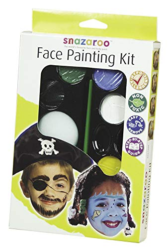 Snazaroo Face Paint Palette Kit - Unisex -