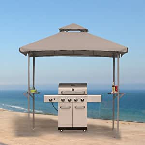 Amazon Com 5 X 8 Grill Shelter Gazebo Replacement Canopy