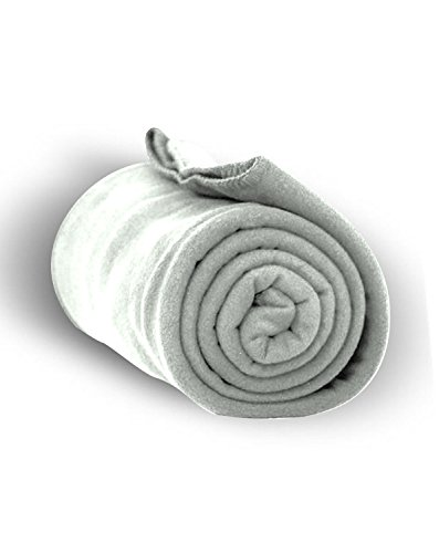 LB FLEECE BLANKET (HEATHER GREY) (os)