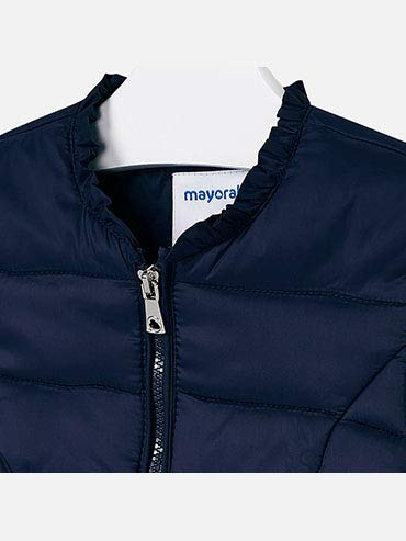 Soft Windbreaker for Girls 3416 Mayoral Navy