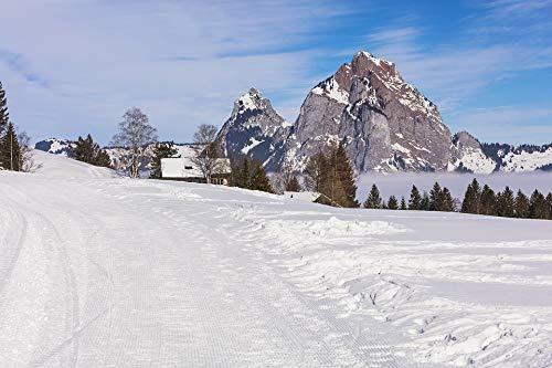Photography Poster - Switzerland, Stoos, Village, Alpine, 24