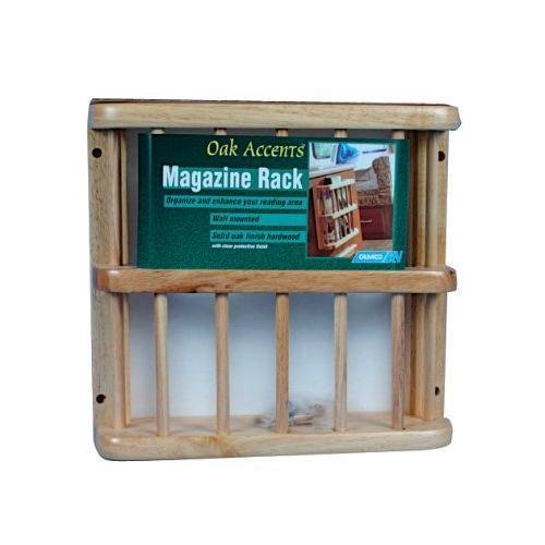 Camco 43411 Oak Accents Magazine Rack New /#home-gallery