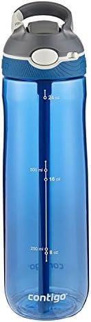 Contigo Autospout® Ashland - Botella de agua con popote, Monaco, 680 g, 1