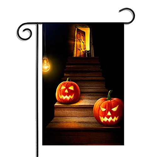 Kicode Christmas Halloween Thanksgiving Garden Flag for Party Festival Home Hanging Banners Decor 30X45cm]()