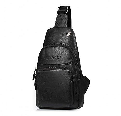 Body Black Man Made Handbags - 5