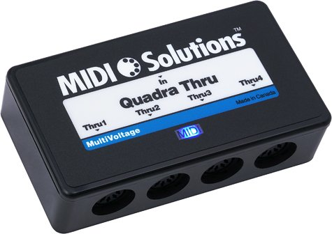 MIDI Solutions Quadra Thru - Drums Discrete Series