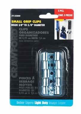 Lehigh Group/Crawford #13200 5PK SM Clip Organizer - Sm Clip Organizer
