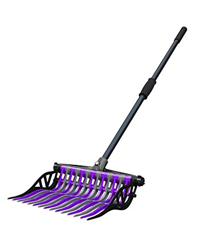 Noble Outfitters Wave Fork Manure Pooper Scooper Purple Granite 41106 by Noble Outfitters