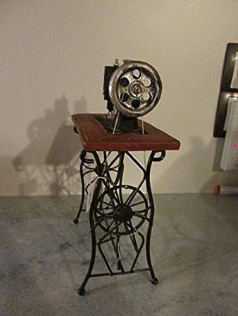 Ideal para un modelo antiguo de la máquina de coser de la máquina de coser de la mesa de metal y + de poli 22 x 15 ...