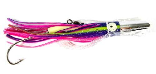 Boone Mahi Jet Rigged Bait, Purple/Pink, 6 1/2-Inch (Mahi Bait Mahi)