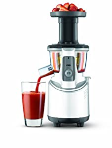 Slow Juicer Opskrifter Bog : Amazon.com: Breville BJS600XL Fountain Crush Masticating Slow Juicer: Kitchen & Dining