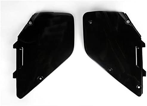 UFO Plastics Rear Fender Black for Suzuki RM 125 250 96-00