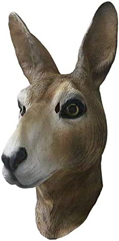 HENGYUTOYMASK Máscara de Canguro de látex de Goma, Disfraz de ...