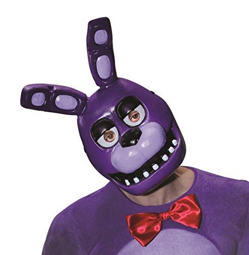 Fnaf Bonnie Halloween Costume (Rubie's Costume Five Nights at Freddy's Bonnie Half)