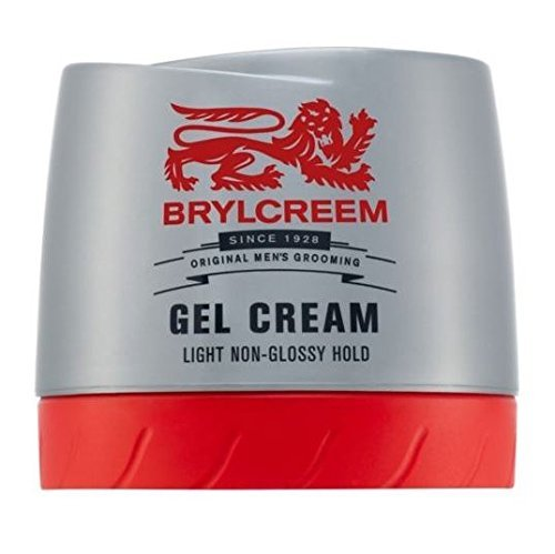 Brylcreem Gel Cream Light Non-Greasy Hold (150ml) - Pack of 6 (Brylcreem Gel Cream Light Non Greasy Hold)