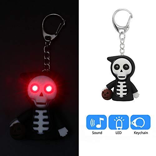 Halloween Cartoon Grim Reaper Keychain - Mini Flashing