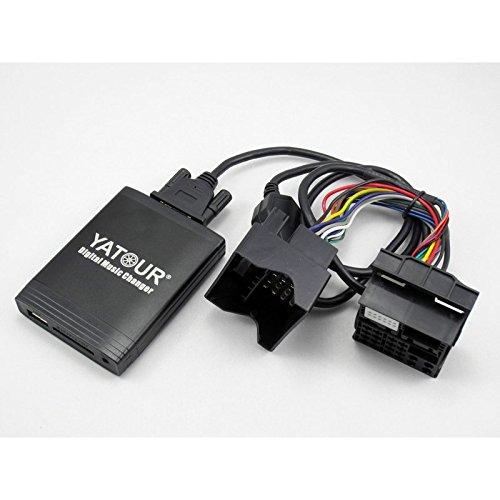 Adattatore Interfaccia USB AUX Lettore MP3 Auto bluetooth per BMW Mini cooper plug /& play YATOUR