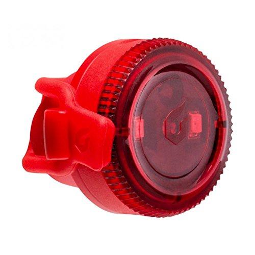 [해외] Blackburn(블랙 BAAN) Blackburn(블랙 BAAN) 자전거 리어 라이트 싸이클 LED 전지 방수 방진 IP-65 실리콘 밴드 4루멘 CLICK [클릭 리어 레드] 7085177