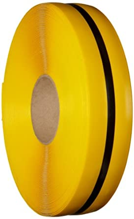 Mighty Line Nonabrasive Floor Marking Tape with Black Center