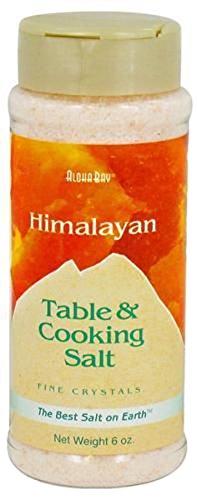 Himalayan Table and Cooking Fine Crystal Salt 6 OZ