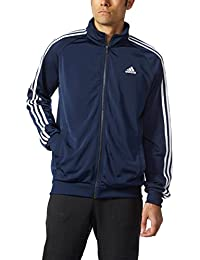 Men's Essential 3 Stripe Tricot Track Jacket