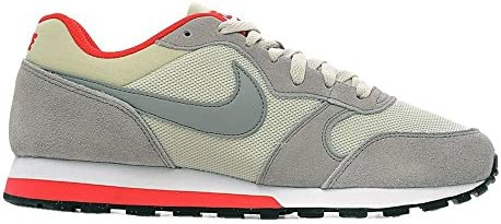 sport shoes sneakers nike md runner 2 gray red men br9310b43