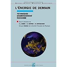 ÉNERGIE DE DEMAIN (L') : TECHNIQUES ENVIRONNEMENT ÉCONOMIE