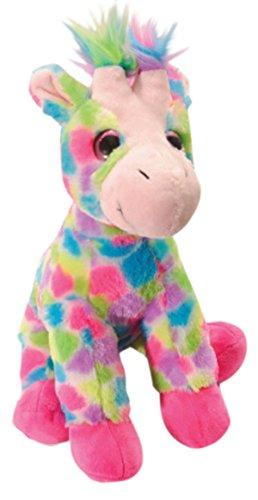 Sitting Giraffe (The Petting Zoo Plush Rainbow Sitting Giraffe - 12 Inches)
