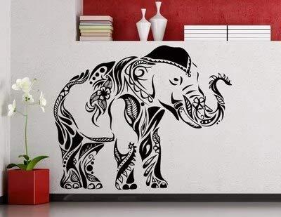 Zhuhuimin Elefante Personalizado Etiqueta de la Pared ...