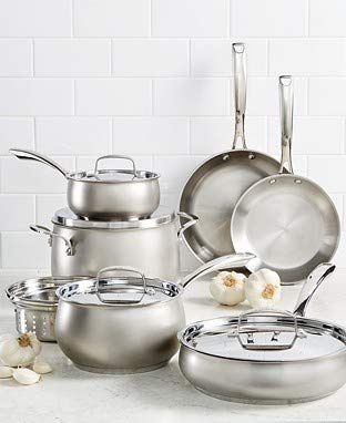 Belgique Hard Anodized 11 Piece Cookware Set