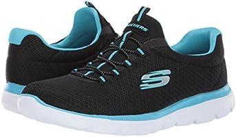 Sneaker Us Sport Summits blackturquoise 5 7 M Women's Skechers 8wNkXPn0O