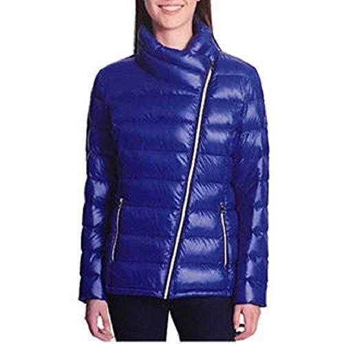 - DKNY Women's Ultralight Down Puffer Jacket Blue Large