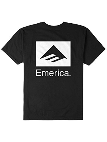 Emerica Combo (Emerica Mens Brand Combo Short Sleeve Shirts,X-Large,Black)