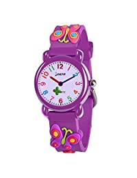 Tisy Unique 3D Cartoon Waterproof Watches for Kids - Best Gifts
