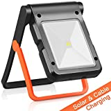 Neporal Portable LED Work Light Solar and USB