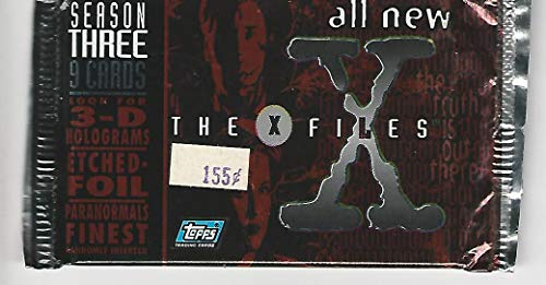 X-files Season Three Trading Card Pack of 9 Cards for sale  Delivered anywhere in USA