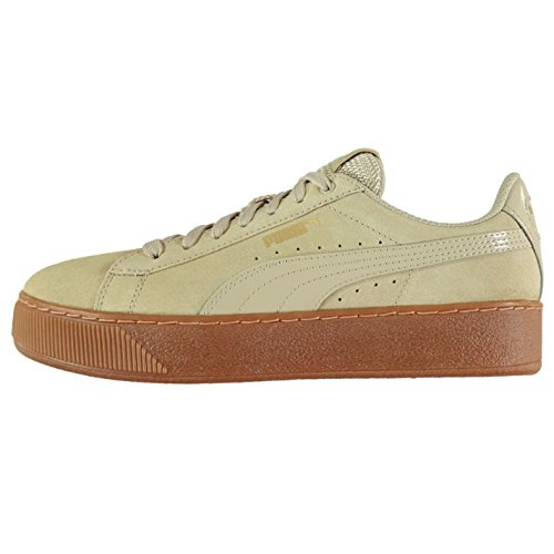 Baskets Officiel Beige pour plate Baskets Vikky Sports forme daim Sneakers Puma femme Chaussures PqP1wRa