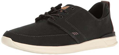 Reef Women Rover Low Fashion Sneaker Black/Charcoal