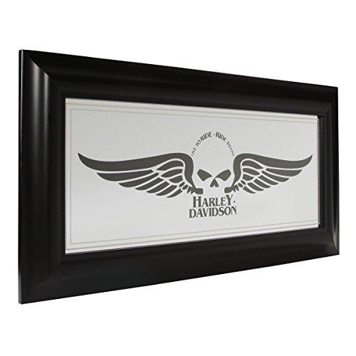 Harley-Davidson® Winged Skull Mirror HDL-15222 (Skull Wall Mirror)