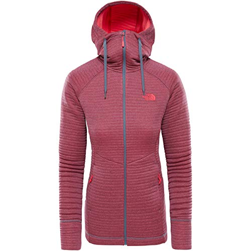 Hikesteller Grisaille Mid The Gry Polaire Veste atomic North Pink W Face 1Ewfq7